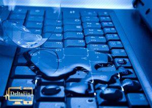 رفع آب خوردگی لپ تاپ