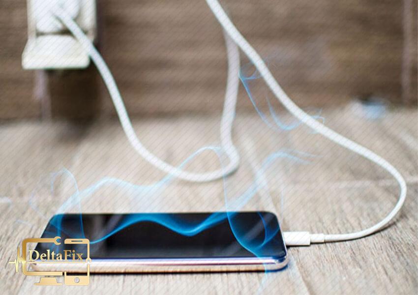 داغ شدن گوشی هنگام استفاده از اینترنت