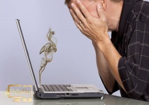 سوختن هارد لپ تاپ