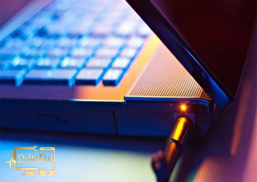 رفع شارژ نشدن باتری لپ تاپ