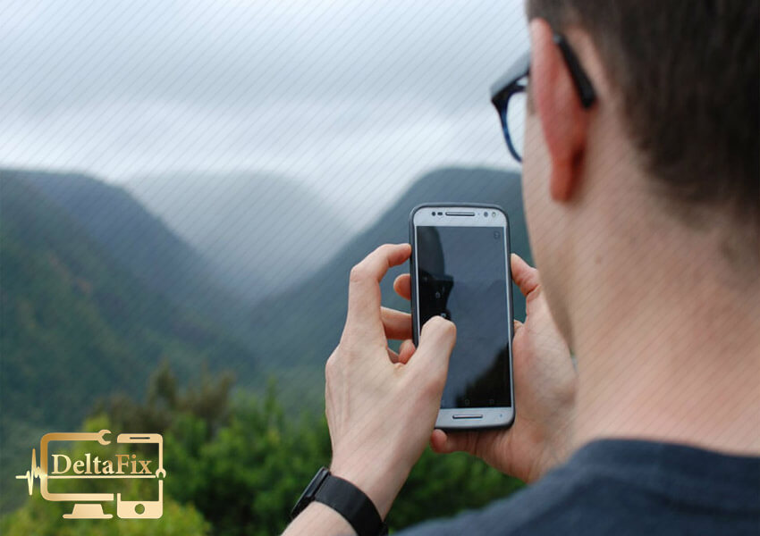 تقویت پریدن آنتن گوشی