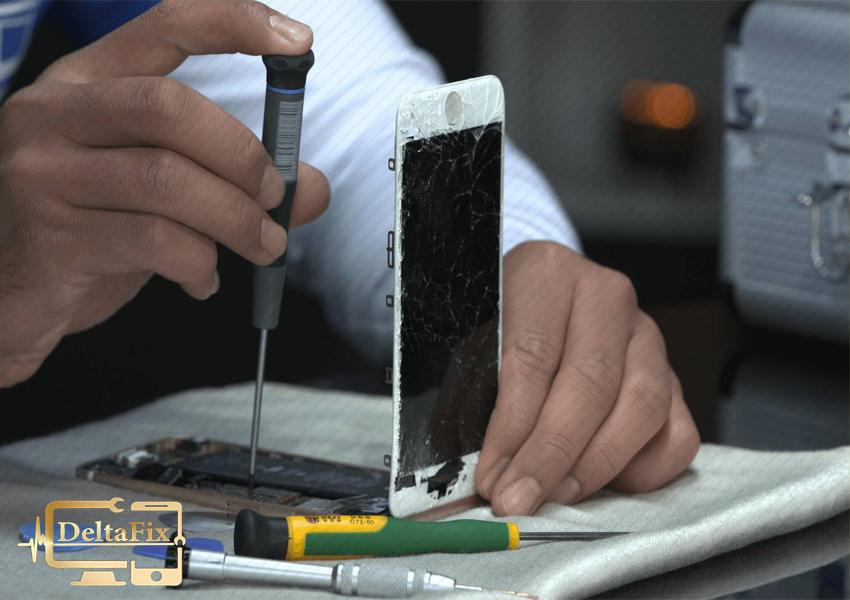 هزینه تعویض شکستن قاب و تعمیر موبایل اپل
