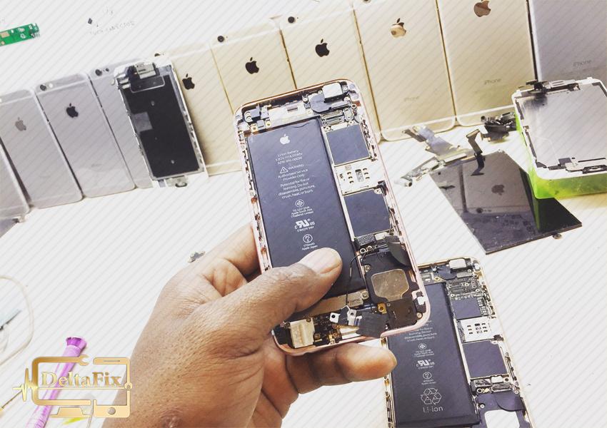 تعمیرات موبایل اپل در مراکز تخصصی