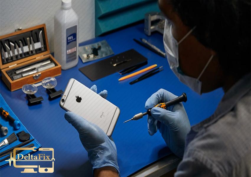 تعمیر دوربین موبایل اپل