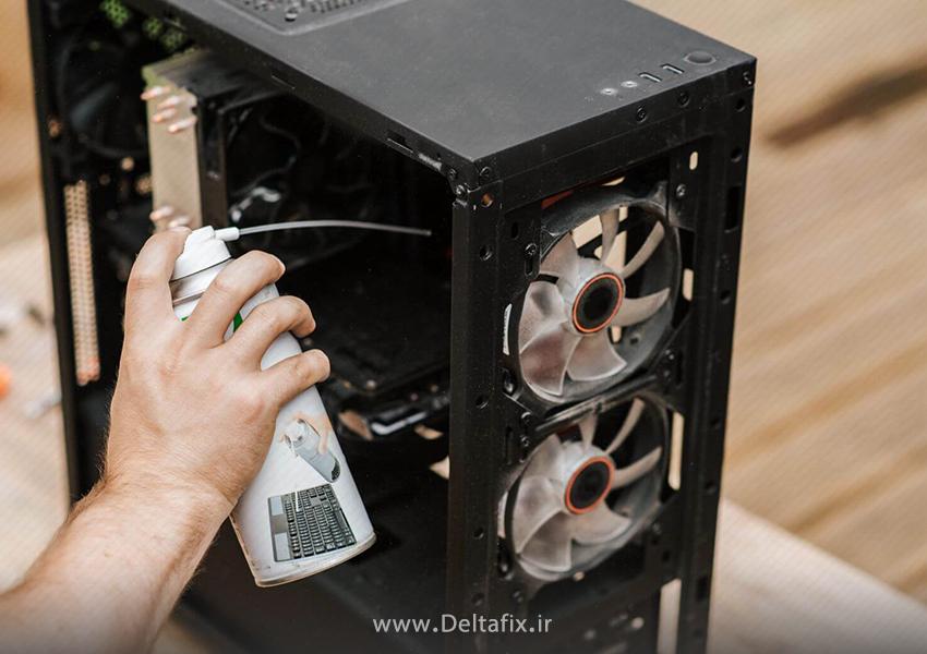 گردگیری کیس کامپیوتر